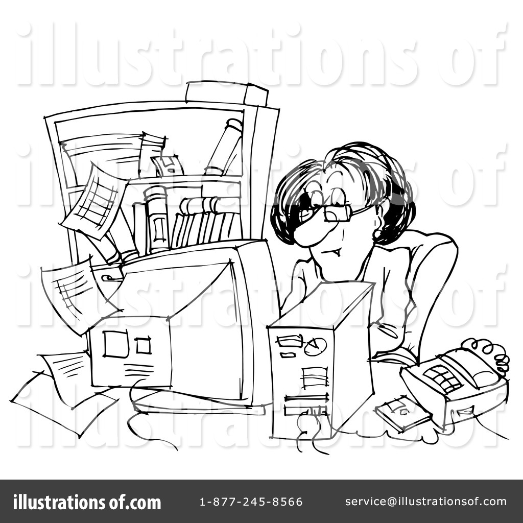 Office Clip Art (rf) office clipart