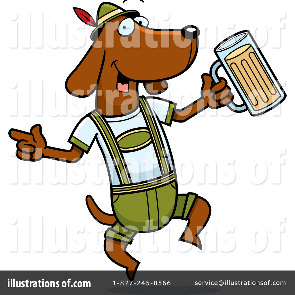 Oktoberfest Clipart #438413 - Illustration by Cory Thoman