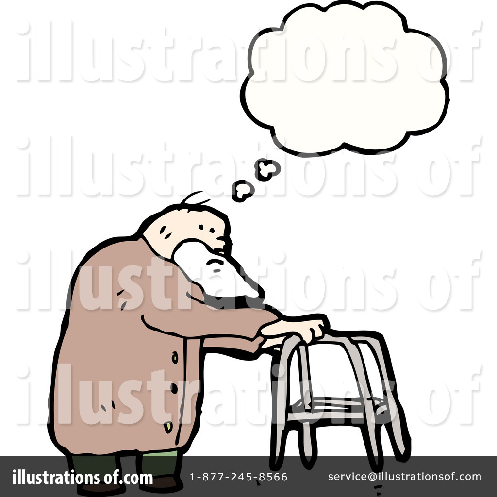 Old Man With Walker Clipart Royalty-free (rf) old man clipart ...: galleryhip.com/old-man-with-walker-clipart.html