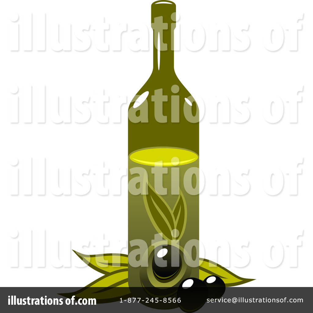 Olive Oil Clipart #1218460 - Illustration by Vector Tradition SM