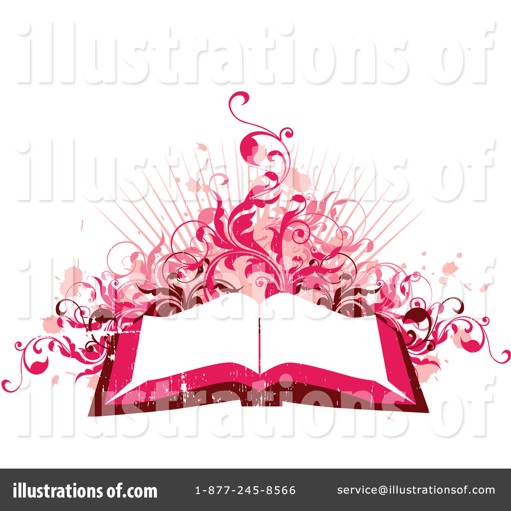 Open Book Clipart #22061 - Illustration by OnFocusMedia