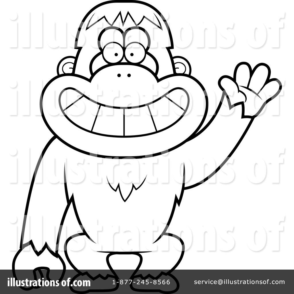 orangutan clipart 1139545 illustration by cory thoman