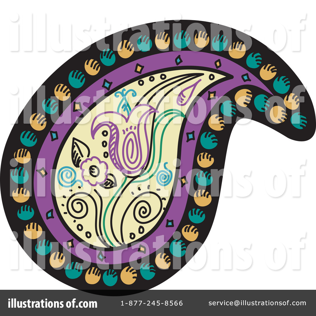 royalty-free-rf-paisley-clipart-illustration-by-inkgraphics-stock ...