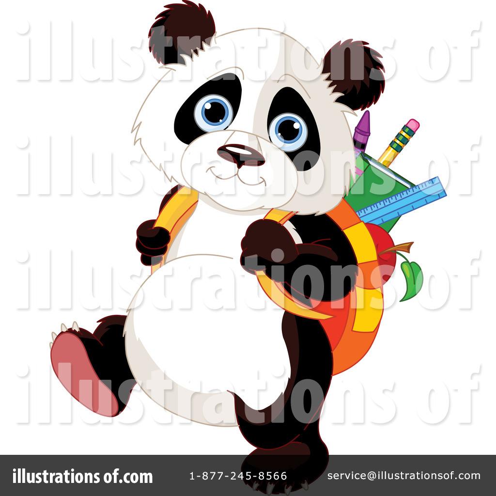 Baby Panda Clipart Panda clipart illustration