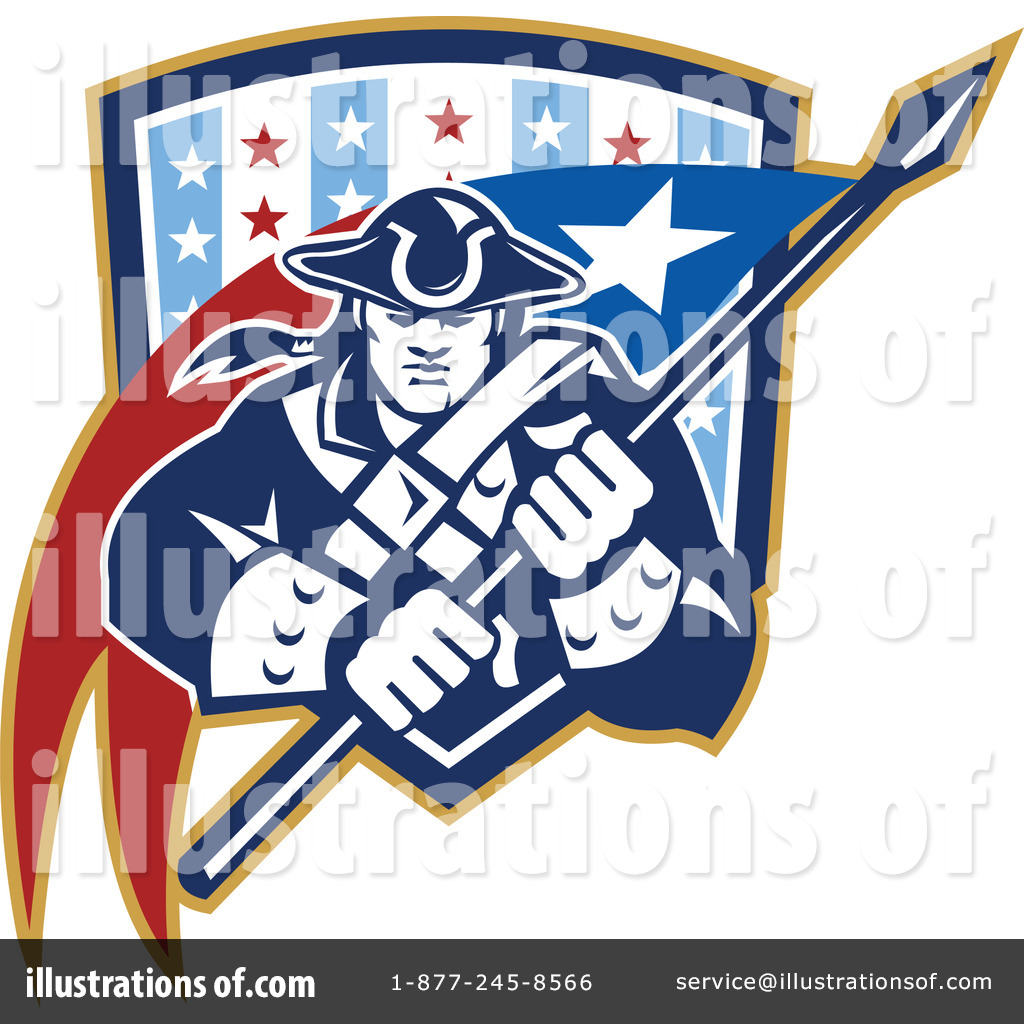 Patriot Clip Art (rf) patriot clipart