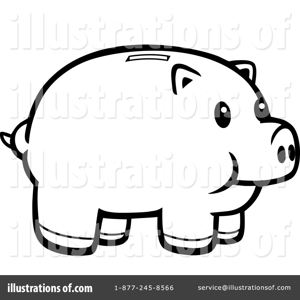 Clip Art Piggy Bank Clip Art piggy bank clipart 1151673 illustration by cory thoman royalty free rf stock sample