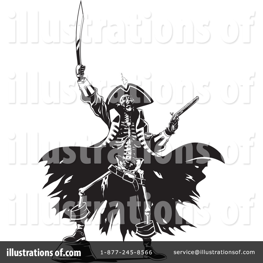 Royalty Free Rf Pirate Clipart Illustration 215468 By Bnp Design ...