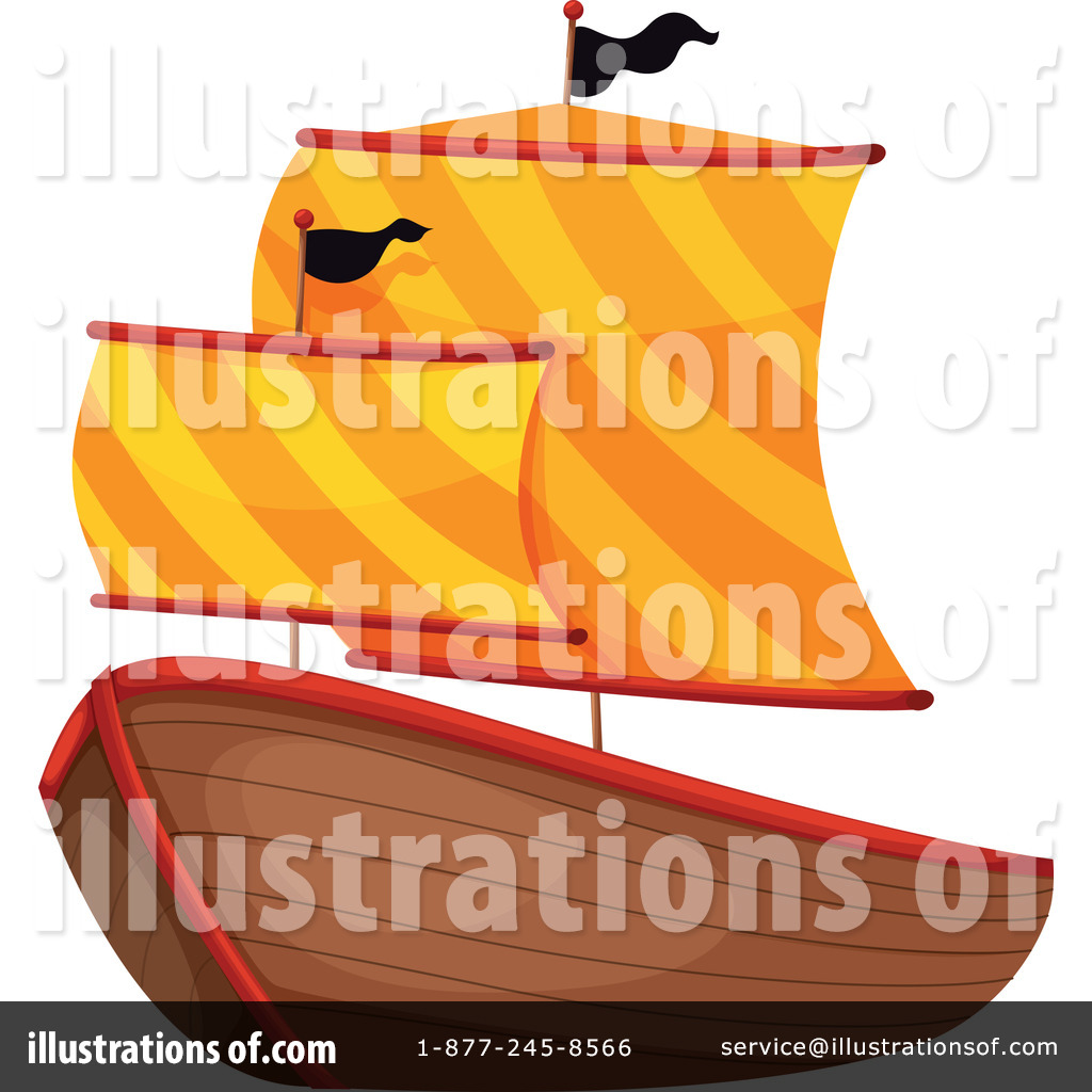 royalty free rf pirate ship clipart illustration 1120484 by colematt