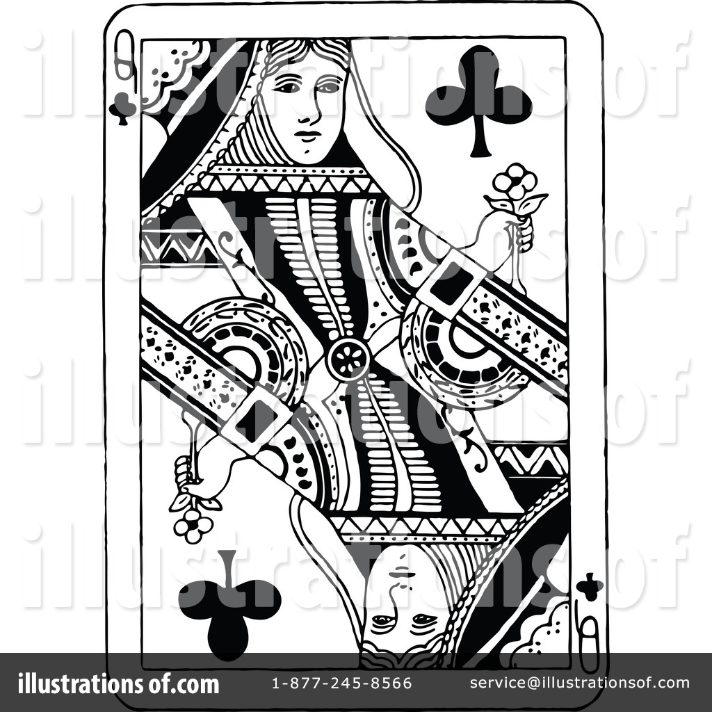 Playing Card Clipart #1207487 - Illustration by Prawny Vintage