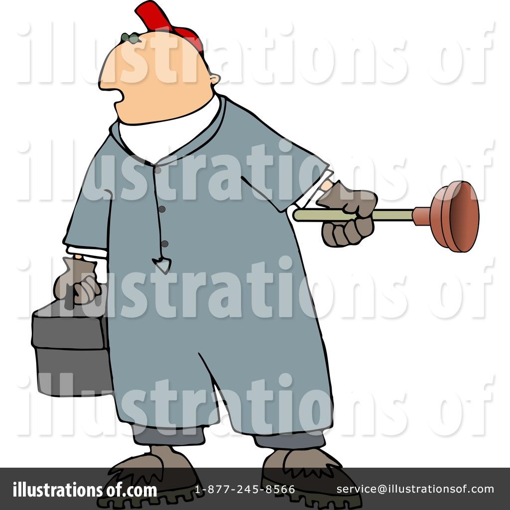 Plumber Clipart 5051 Illustration By Djart