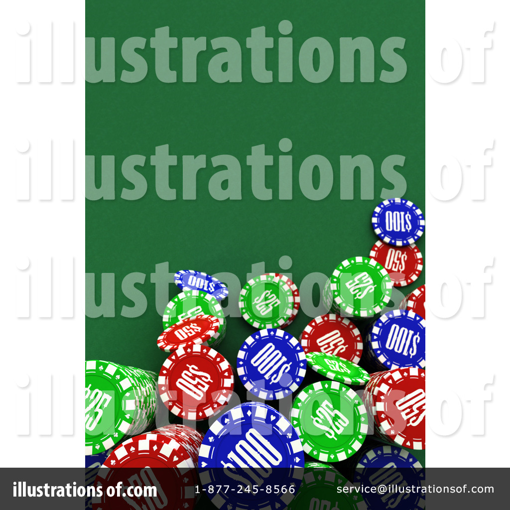 Poker Chips Clip Art (rf) poker chips clipart
