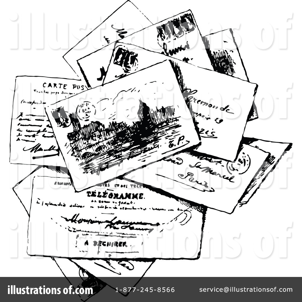 Postcard Clipart #1145864 - Illustration by Prawny Vintage