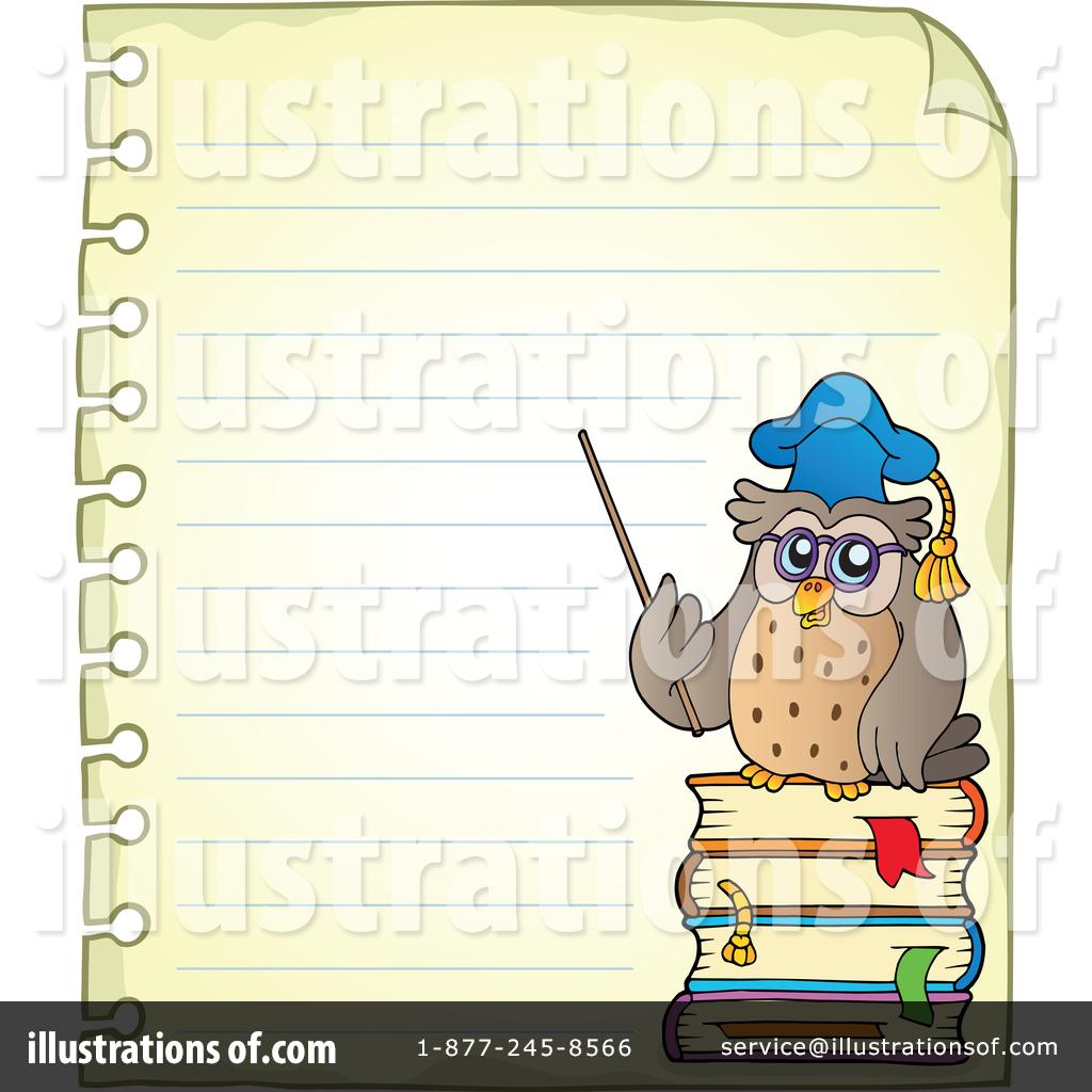 Professor Owl Clipart #1419438 - Illustration by visekart