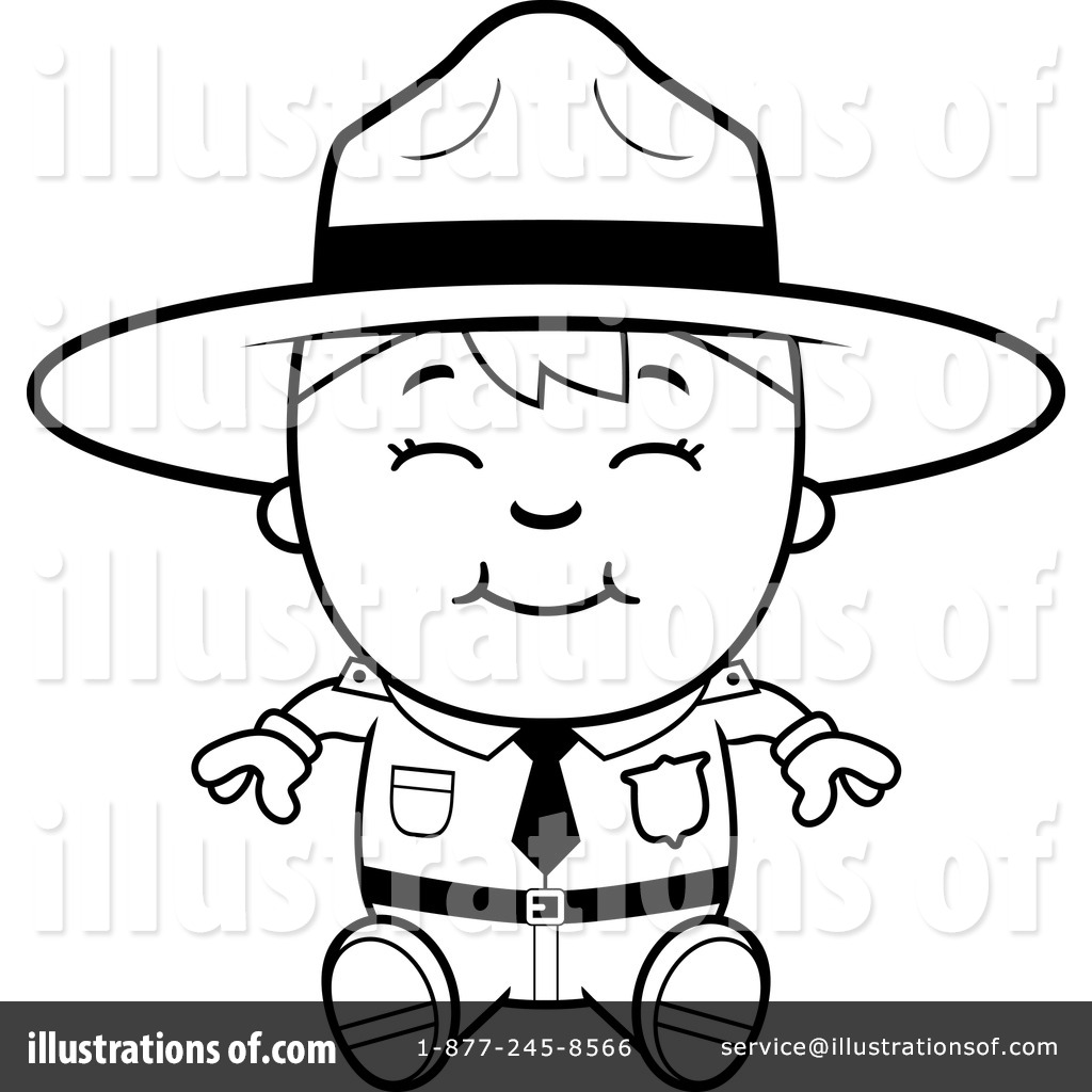 forest ranger coloring pages - photo#32