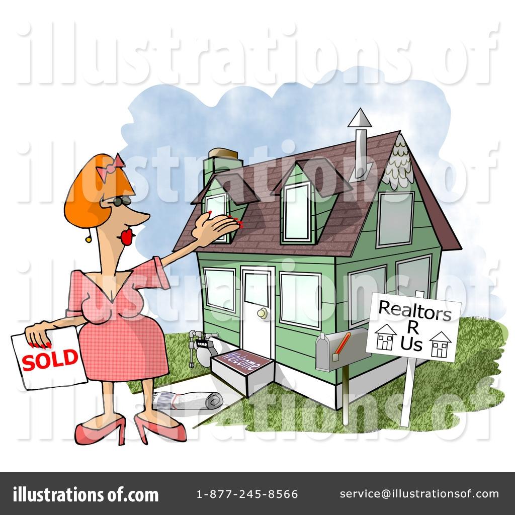 Real estate clipart 5518 illustration by djart for Clipart estate