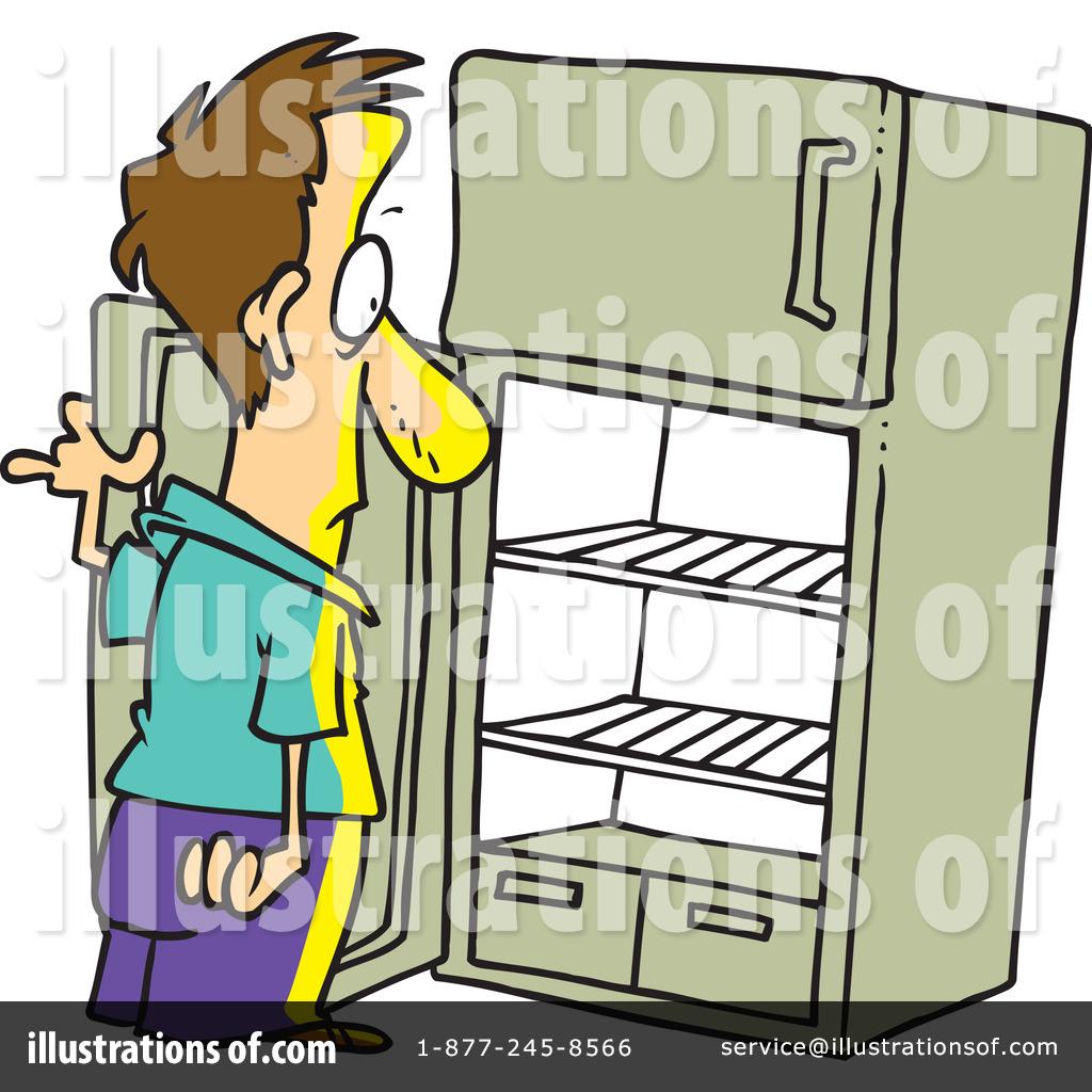 Empty Refrigerator Clip Art