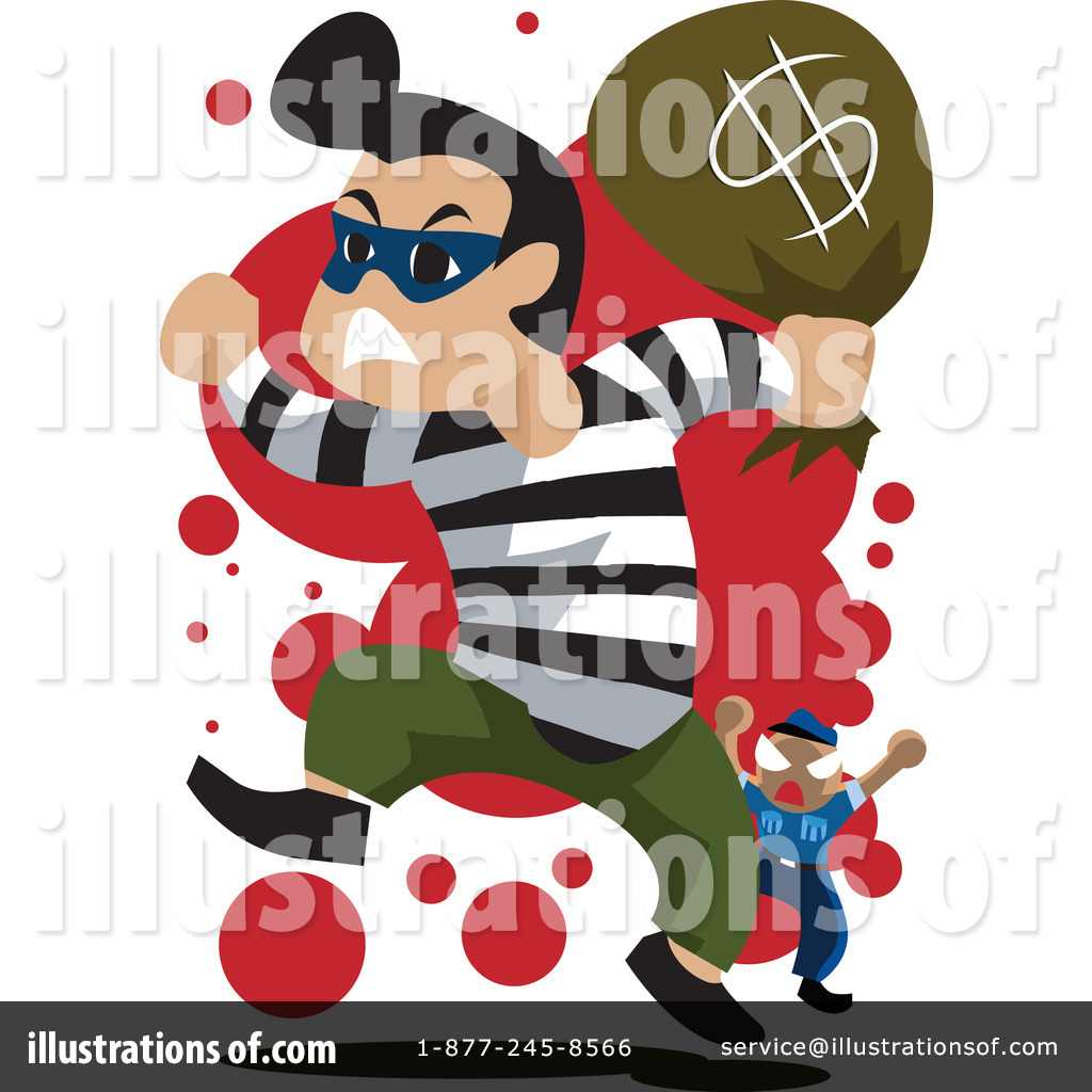 Bank Robbery Clip Art (rf) robber clipart