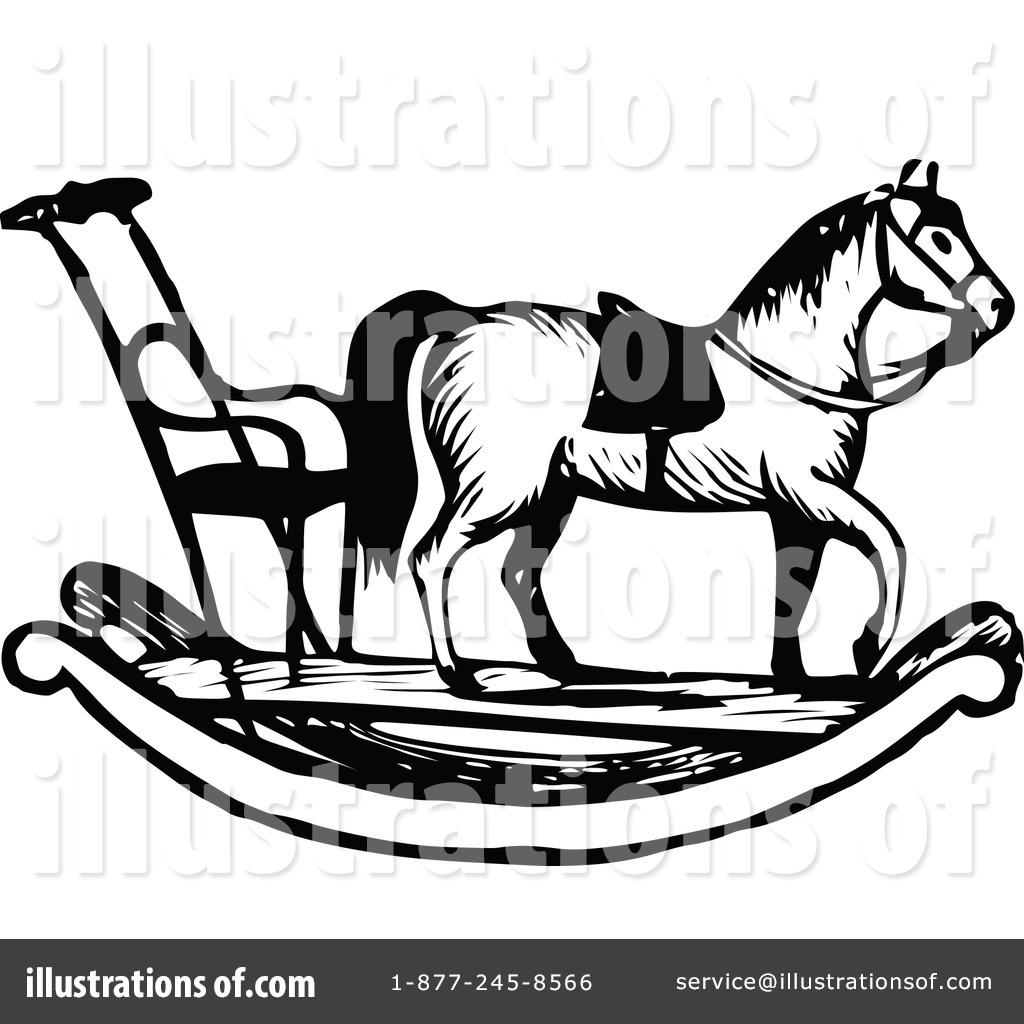 Rocking Horse Clipart #1116880 - Illustration by Prawny Vintage