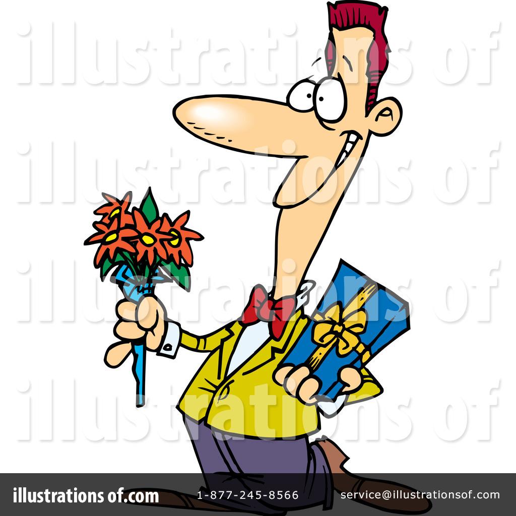 Romantic Clipart #443209 - Illustration by Ron Leishman