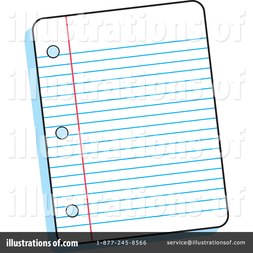Clip Art Lined Paper (rf) ruled paper clipart