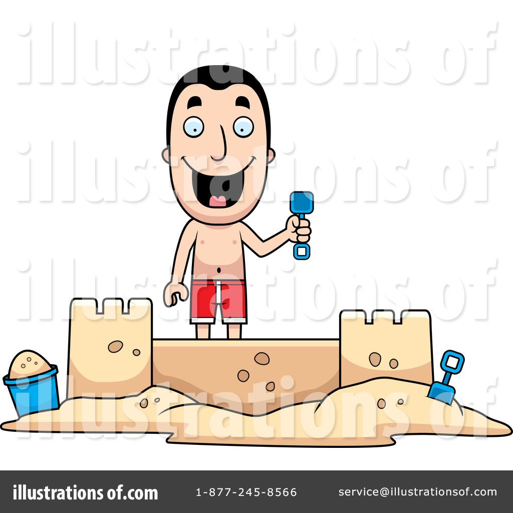Sandcastle Clipart