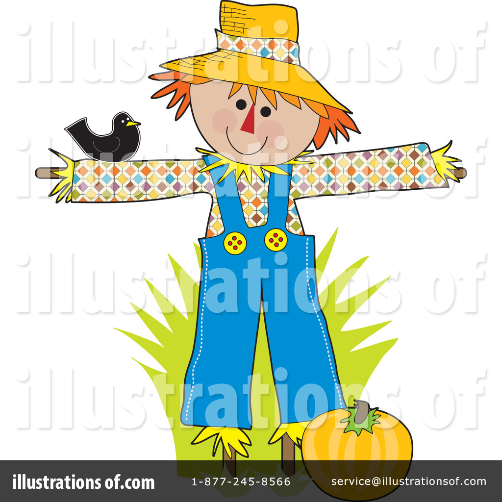 scarecrow clipart 20085 illustration by maria bell rh illustrationsof com Scarecrow Clip Art Holidays free scarecrow clipart images