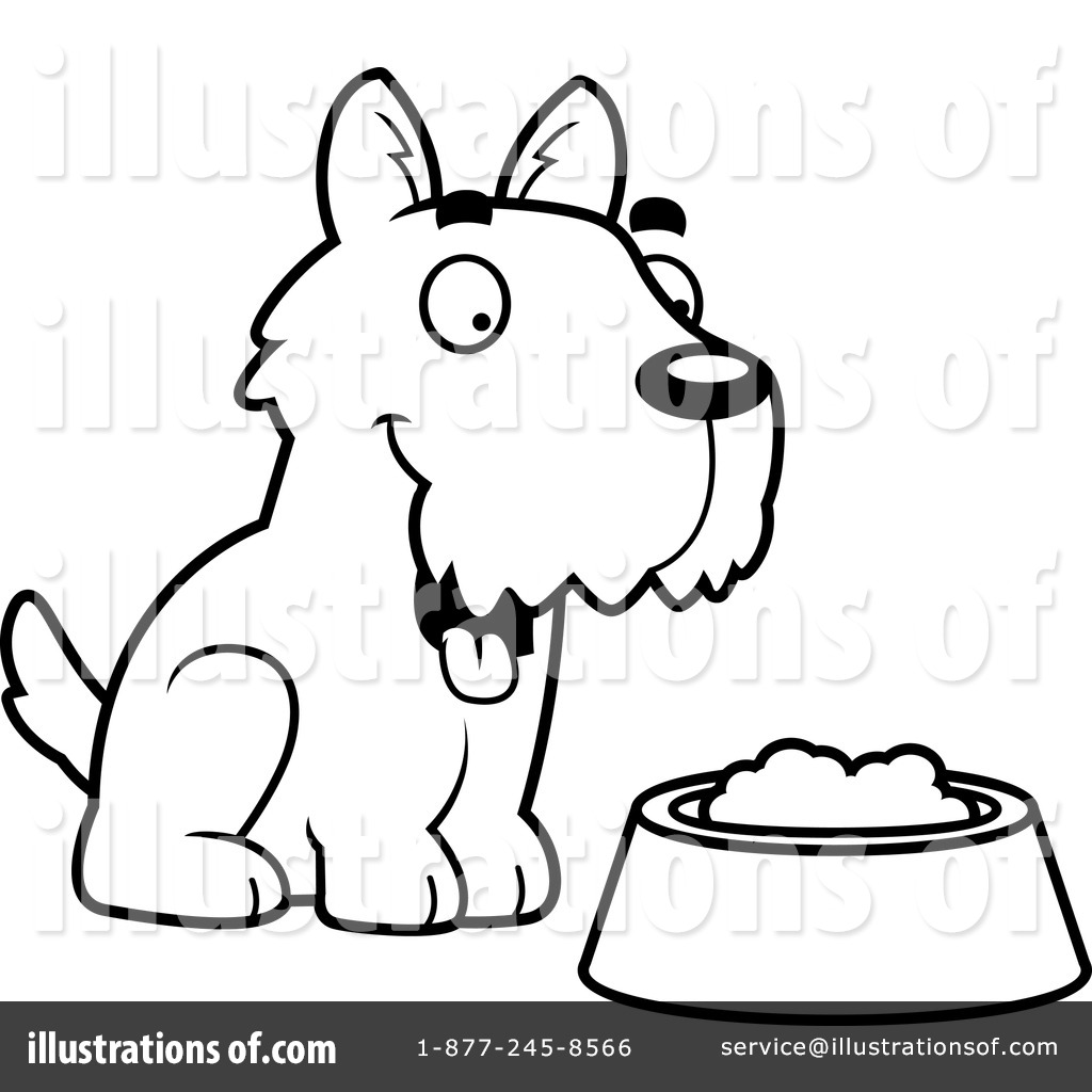 Scottie Dog Coloring Page