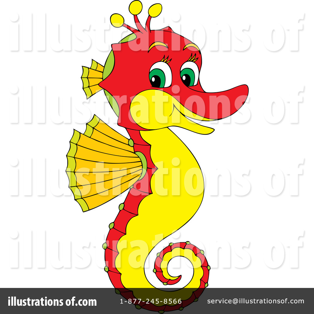 seahorse clipart 39757 illustration by alex bannykh rh illustrationsof com seahorse clip art black and white baby seahorse clipart