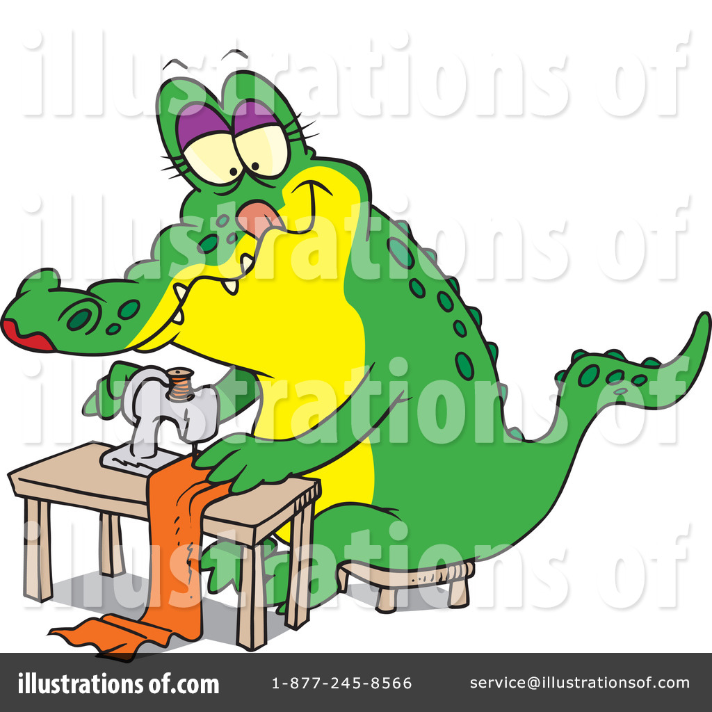 Royalty free rf sewing clipart illustration by ron leishman stock