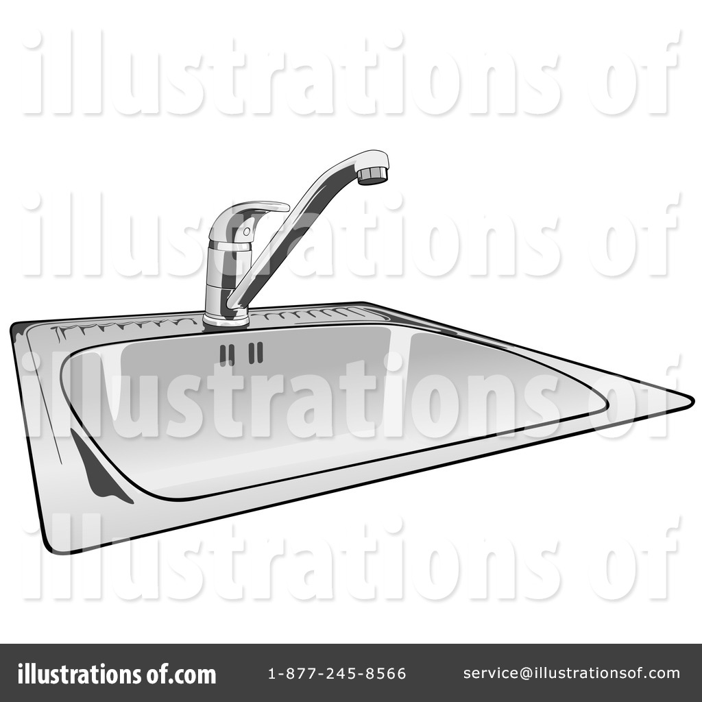 Sink Clipart #51414 - Illustration by dero for bathroom sink clipart  61obs