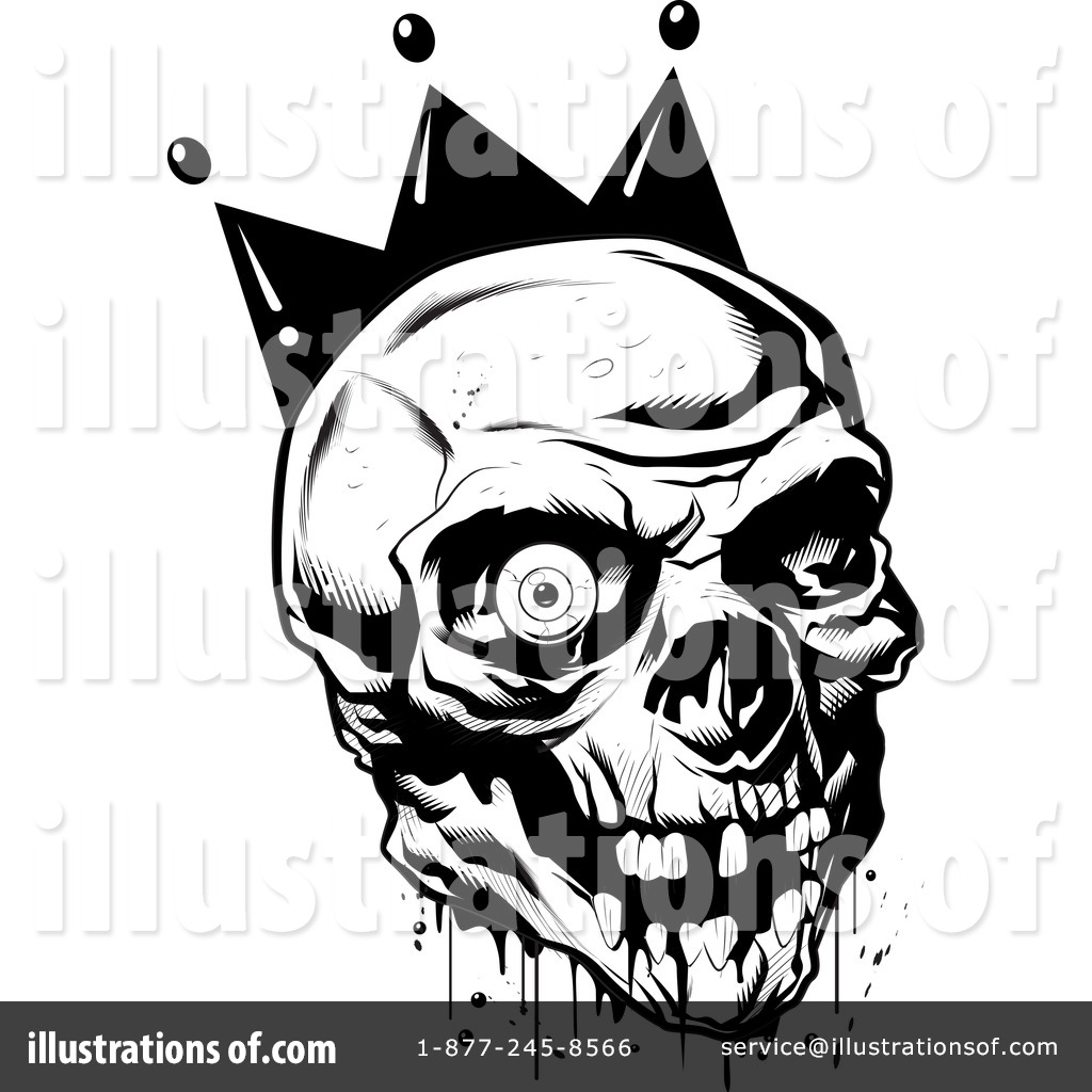 Christmas Illustrations Clip Art.Skull Clipart 34087 Illustration By Lawrence Christmas