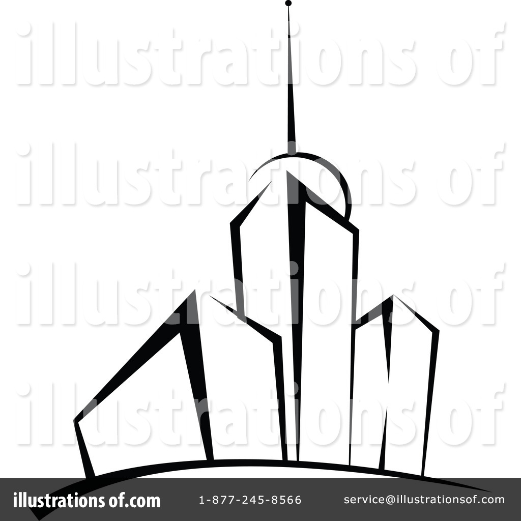 Royalty Free RF Skyscraper Clipart Illustration By Vector Tradition SM