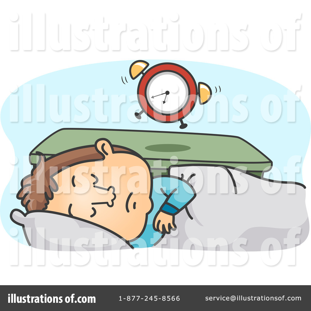 Sleeping Clipart #1108500 - Illustration by BNP Design Studio