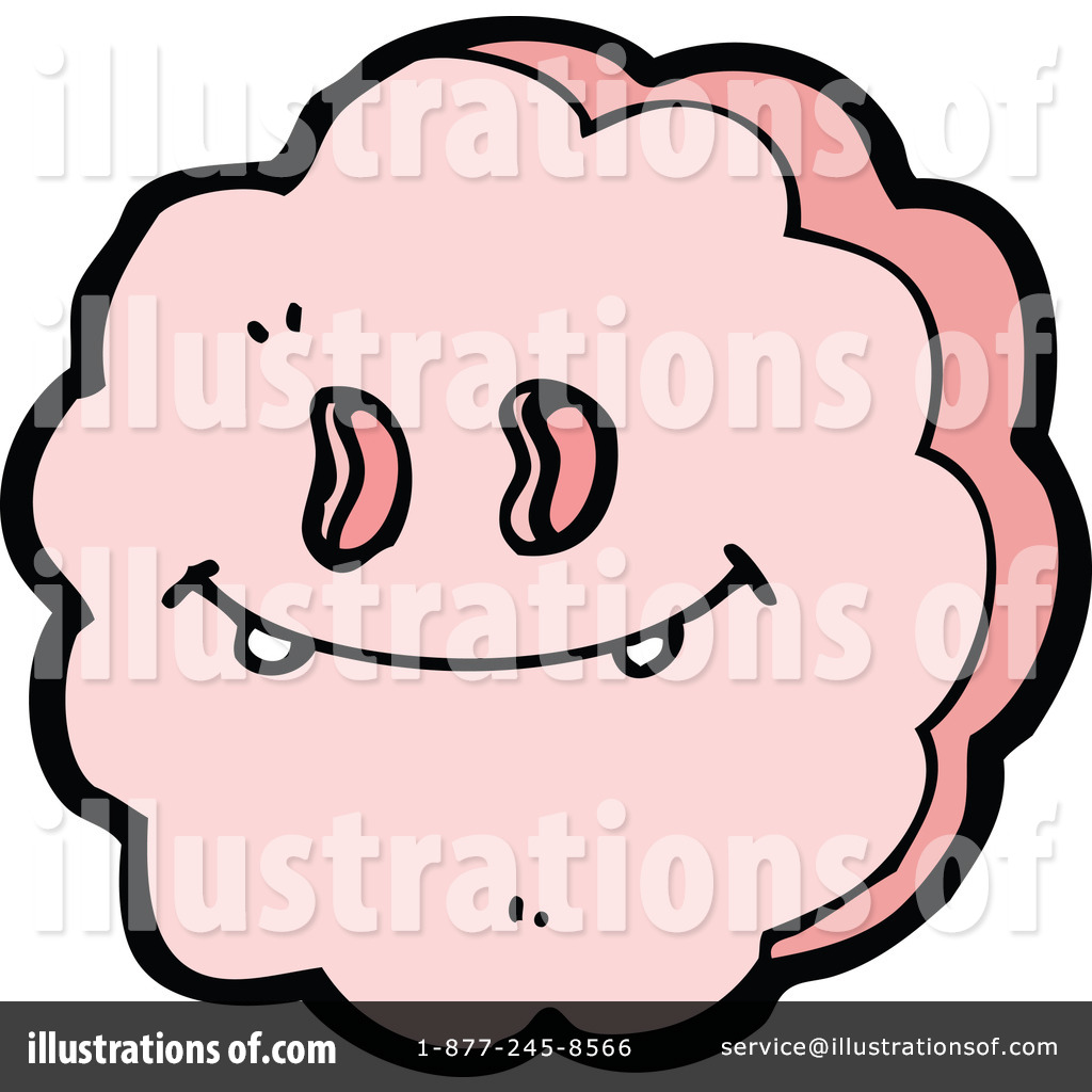 Smiley Face Cloud Clipart 1183921 Illustration By Lineartestpilot