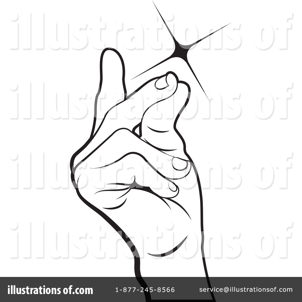 Royalty-Free (RF) Snapping Fingers Clipart Illustration by Lal Perera ...