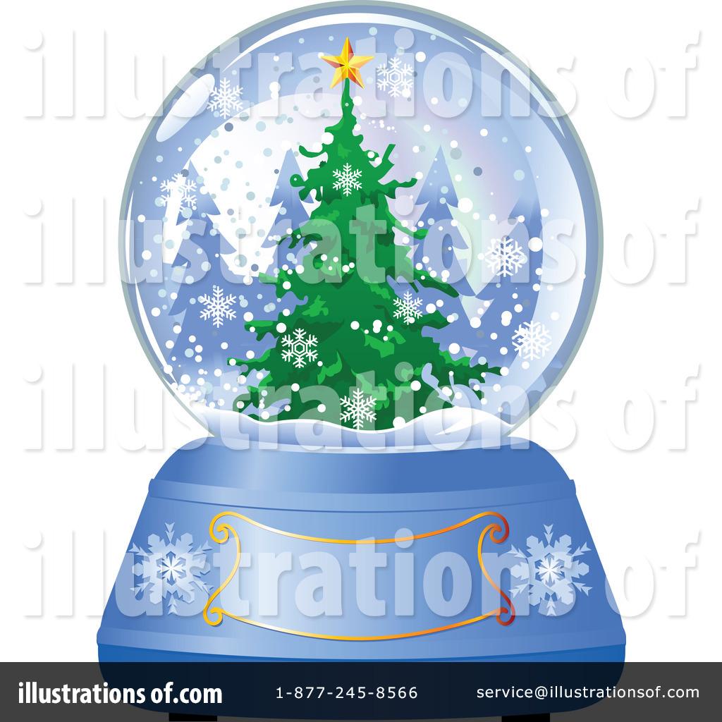 Royalty-Free (RF) Snow Globe Clipart Illustration by Pushkin - Stock ...