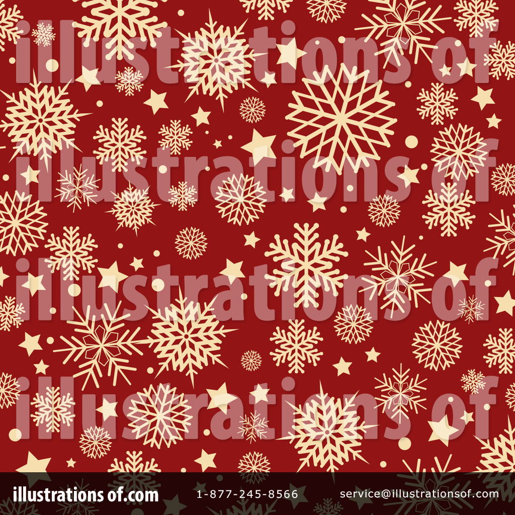 Red Snowflake Clip Art (rf) snowflakes clipart