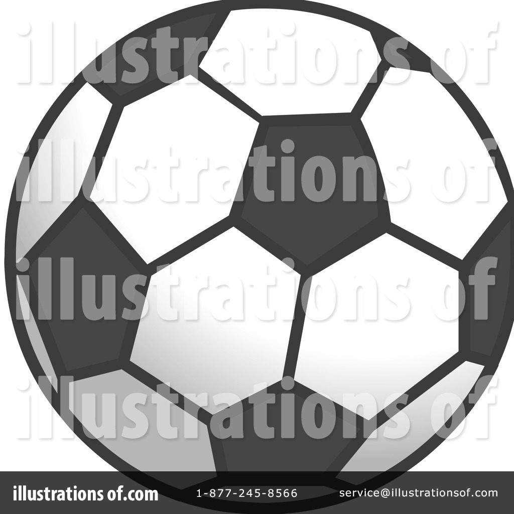 Soccer Ball Clipart #1106641 - Illustration by Cartoon Solutions