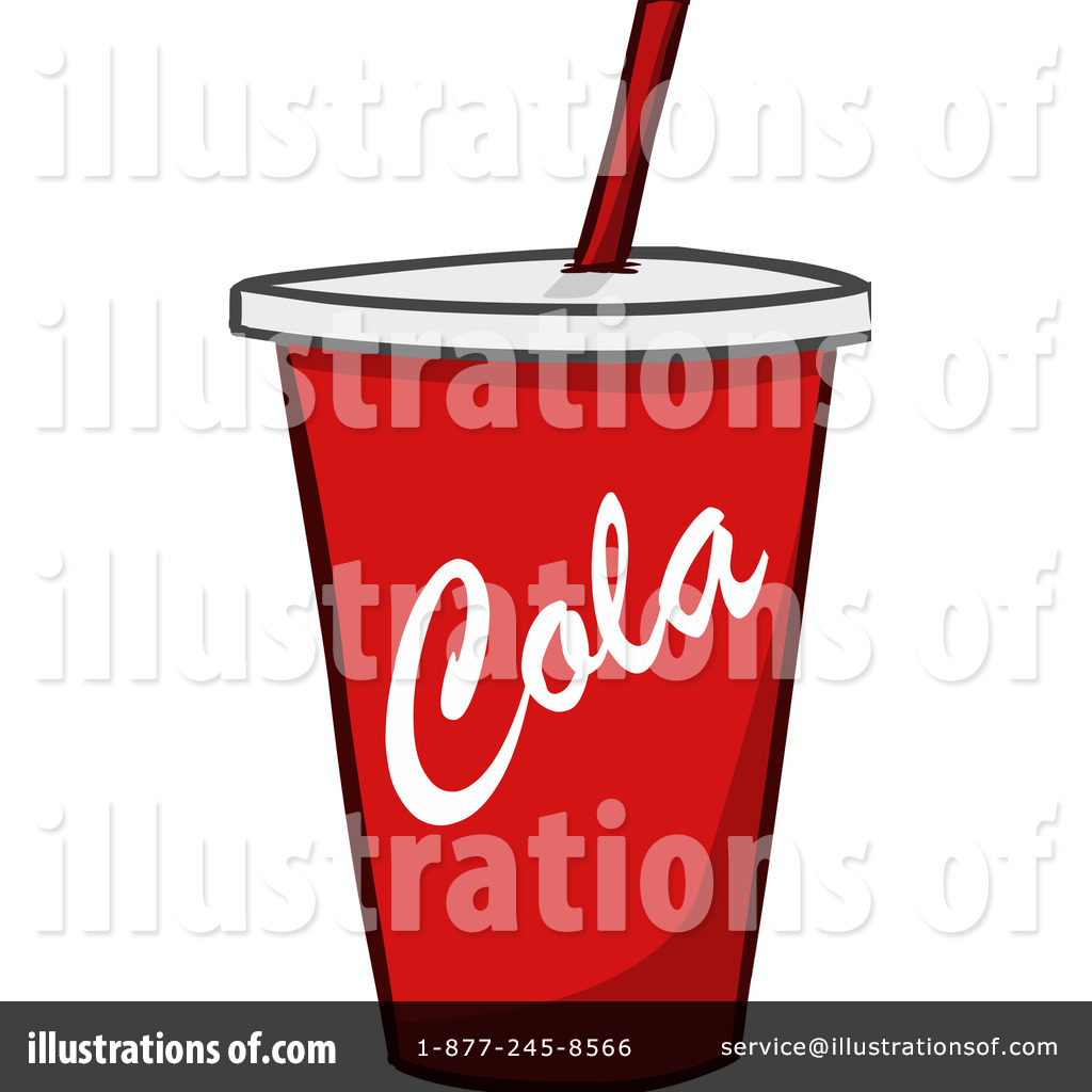 Soda Clipart #1106567 - Illustration by Cartoon Solutions