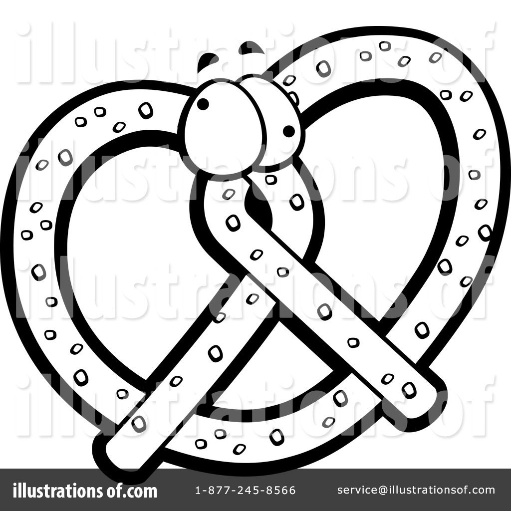 Clip Art Pretzel Clip Art soft pretzel clipart 1151635 illustration by cory thoman royalty free rf stock sample