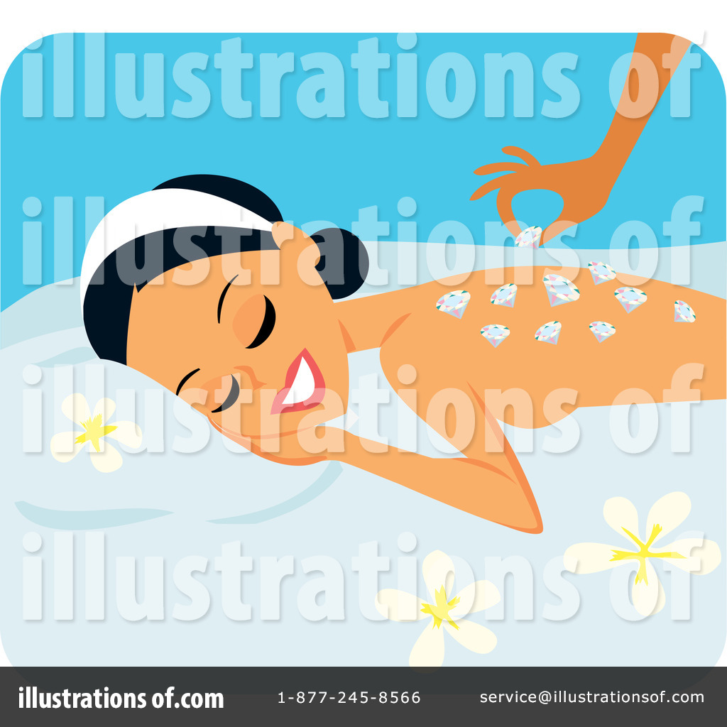 spa clipart 45811 illustration by monica rh illustrationsof com free spa girl clipart Spa Face Mask