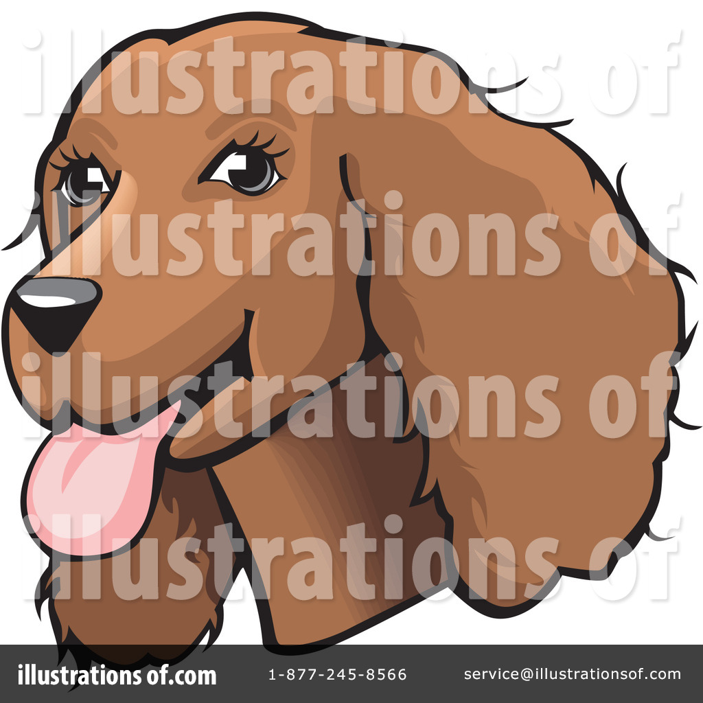 Spaniel Clipart #26510 - Illustration by David Rey