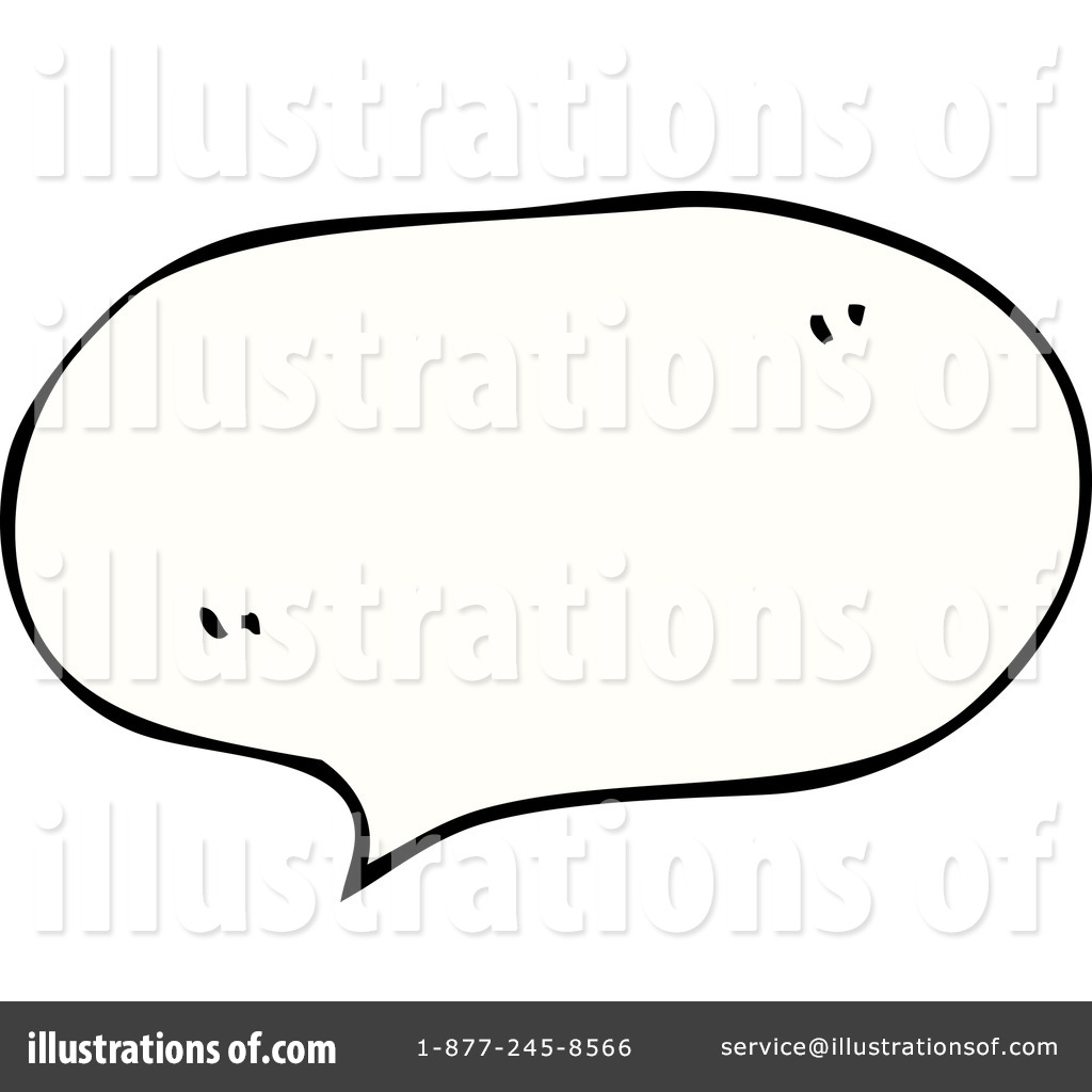 ... Speech Balloon Clipart Illustration by lineartestpilot - Stock Sample