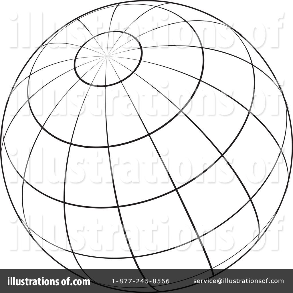 Sphere Clipart #217984 - Illustration by KJ Pargeter