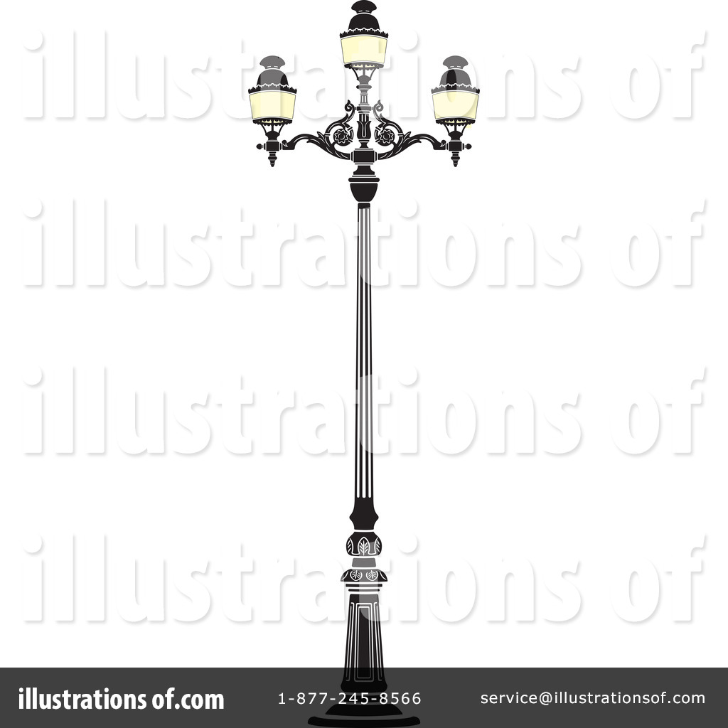 Street Lamp Clipart #44385 - Illustration by Frisko