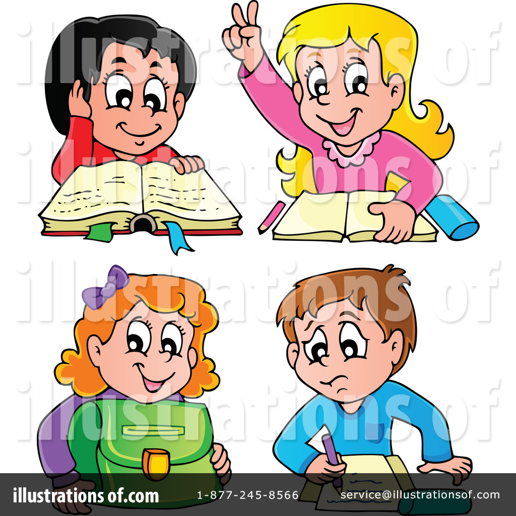 Student Clipart #1114845 - Illustration by visekart