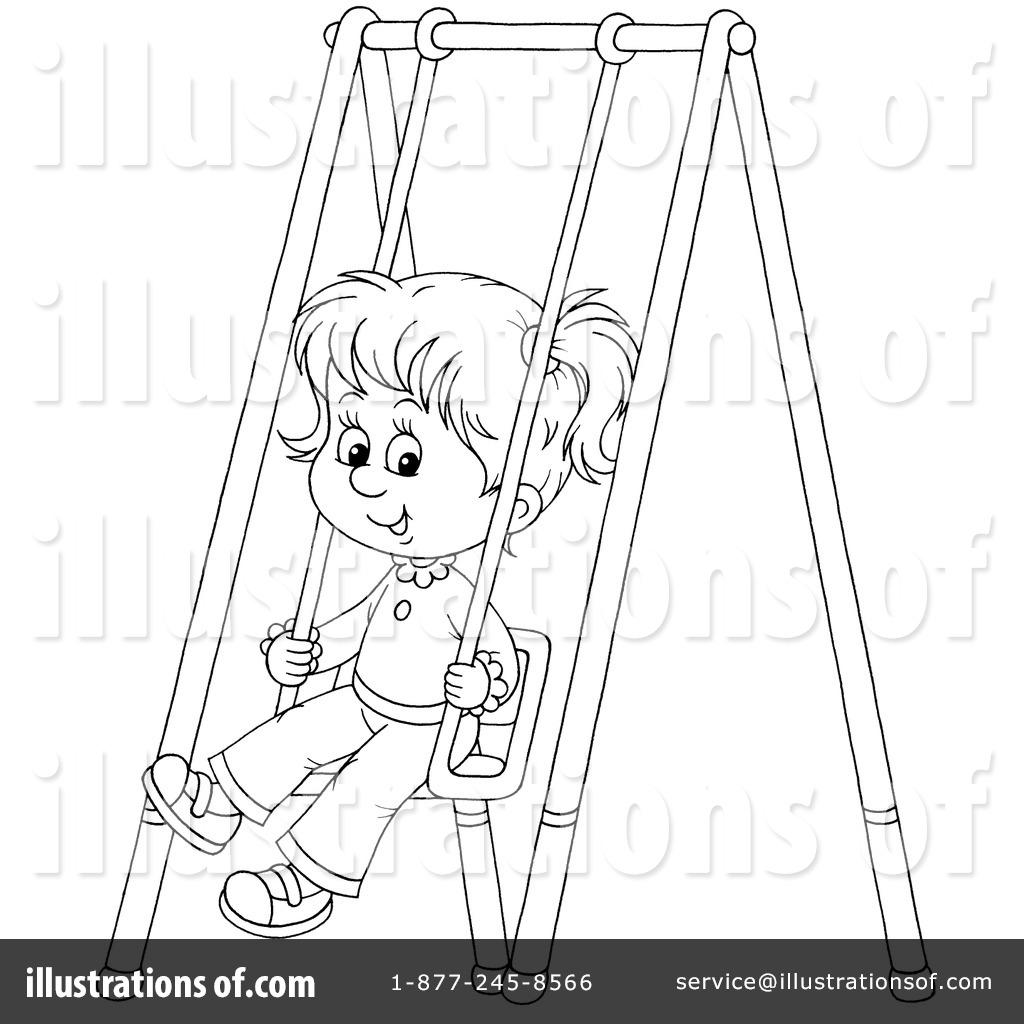 Swinging Clipart 229854 Illustration By Alex Bannykh