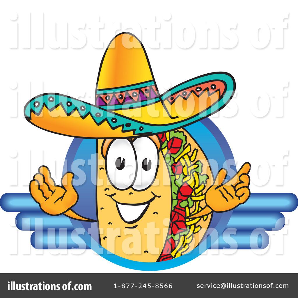 ... Free (RF) Taco Clipart Illustration by Toons4Biz - Stock Sample #17512