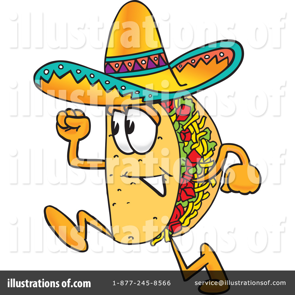 taco clipart 8040 illustration by toons4biz rh illustrationsof com Taco Border Clip Art taco clipart free
