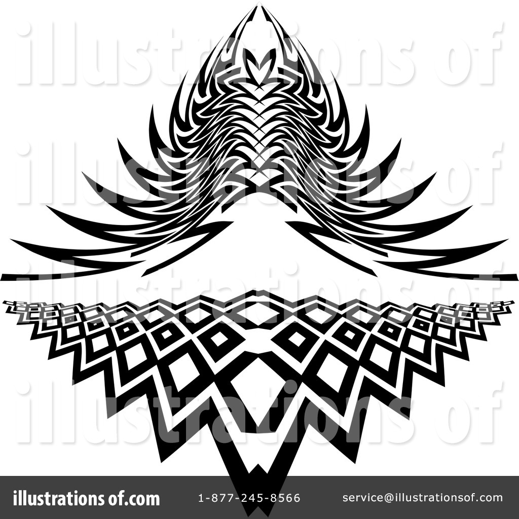 Royalty Free RF Tattoo Clipart Illustration By KJ Pargeter  Stock